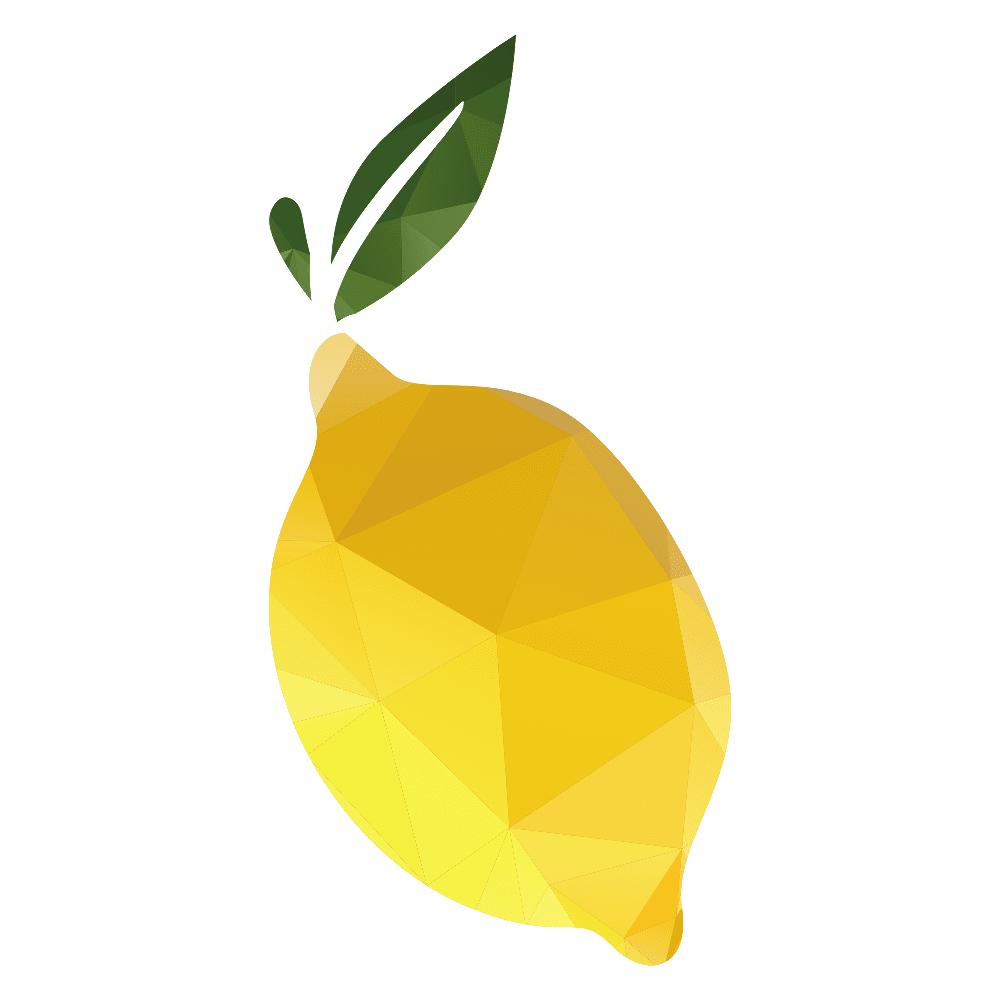 stylized lemon